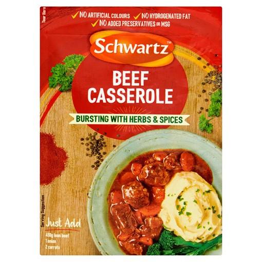 Picture of Schwartz Beef Casserole Recipe Mix 43g