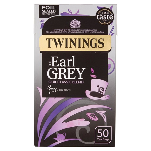 Picture of Twinings The Earl Grey 50 Tea Bags 125g
