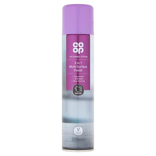 Picture of Co-op 3 in 1 Multi-Surface Polish 300ml