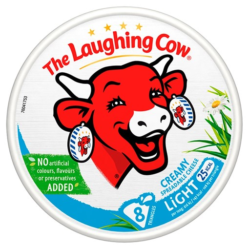 Picture of The Laughing Cow Light Spread Cheese 8 Triangles 140g