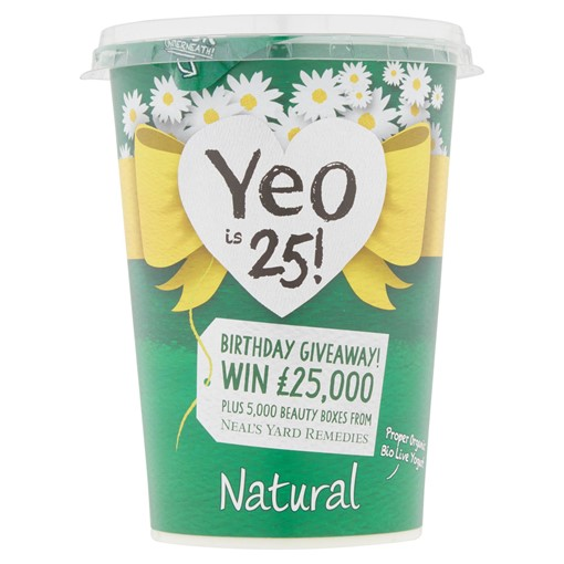 Picture of Yeo Valley Organic Natural 500g