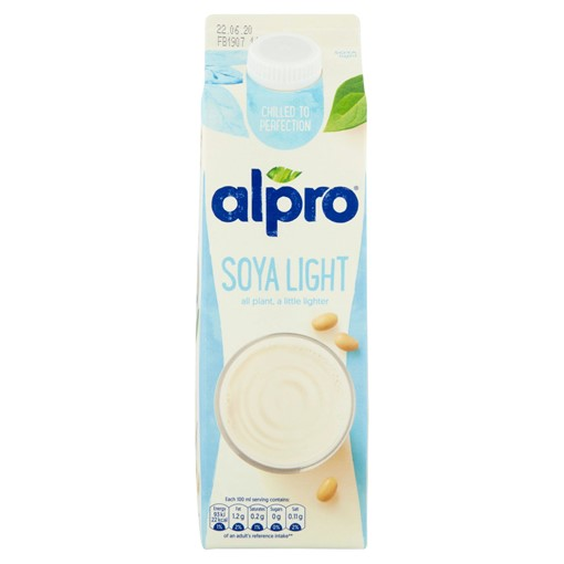 Picture of Alpro Soya Light Chilled Drink 1L