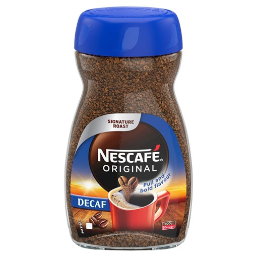 Picture of Nescafe Original Decaf Instant Coffee 100g