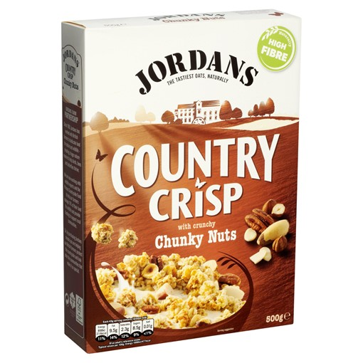 Picture of Jordans Country Crisp with Crunchy Chunky Nuts 500g