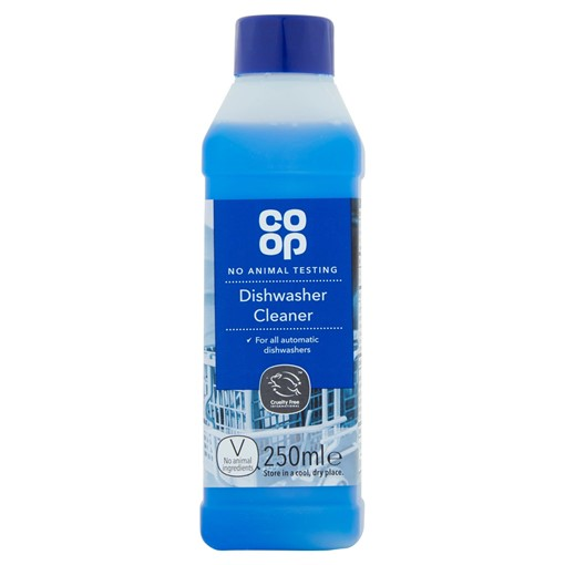 Picture of Co-op Dishwasher Cleaner 250ml
