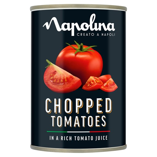 Picture of Napolina Chopped Tomatoes in a Rich Tomato Juice 400g