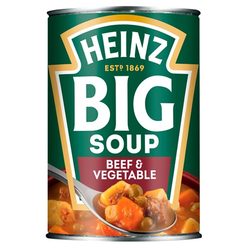 Picture of Heinz Big Soup Beef & Vegetable 400g