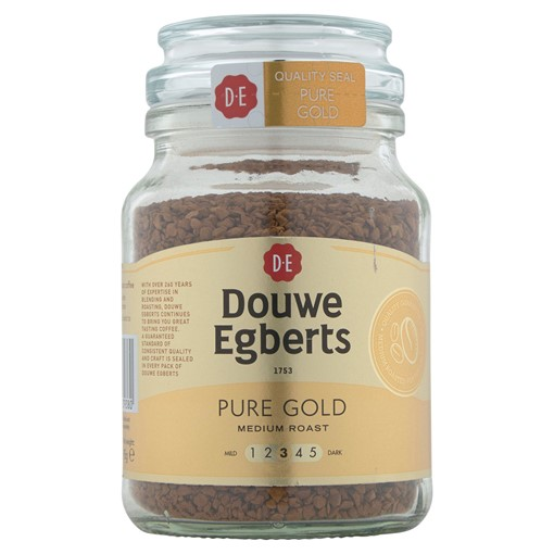 Picture of Douwe Egberts Pure Gold Medium Roast Instant Coffee 95g