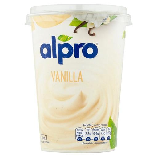 Picture of Alpro Vanilla Yoghurt Alternative 500g
