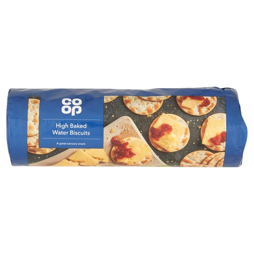 Picture of Co Op High Baked Water Biscuits 200g