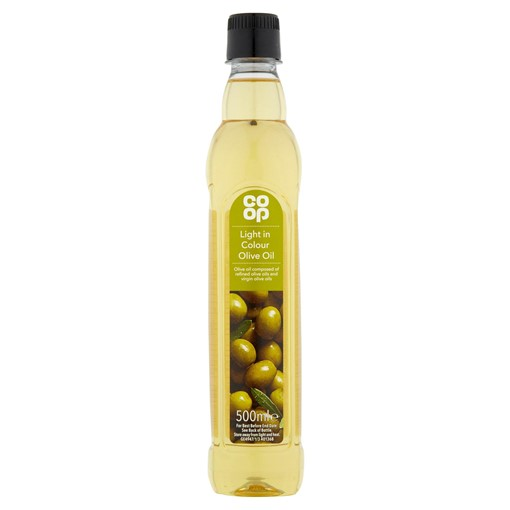 Picture of Co-op Light in Colour Olive Oil 500ml