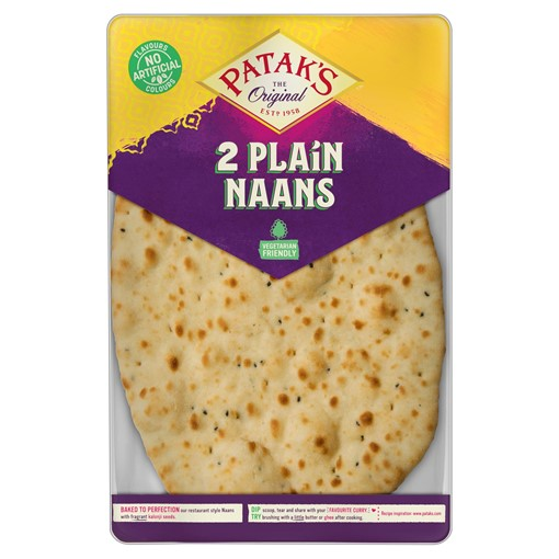 Picture of Patak's Plain Naan Breads x 2