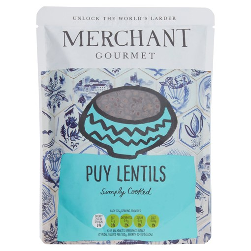Picture of Merchant Gourmet Simply Cooked Puy Lentils 250g