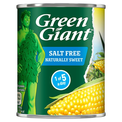 Picture of Green Giant Salt Free Sweetcorn 198g