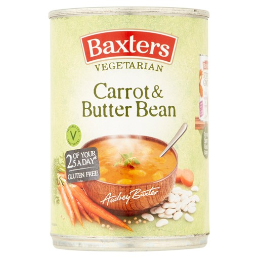 Picture of Baxters Veggie Goodness Carrot & Butter Bean 400g