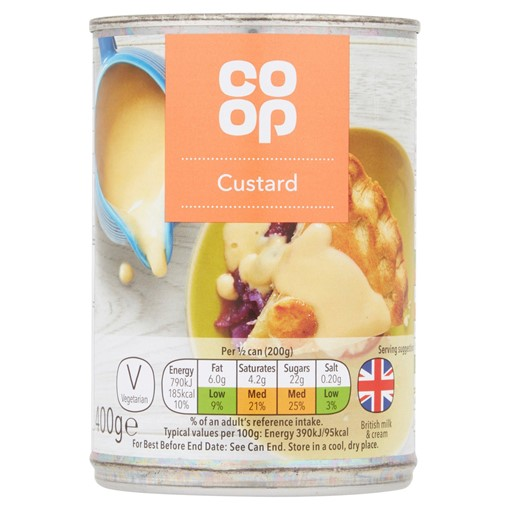 Picture of Co-op Custard 400g