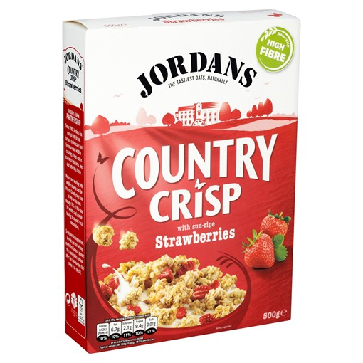 Picture of Jordans Country Crisp with Sun-Ripe Strawberries 500g