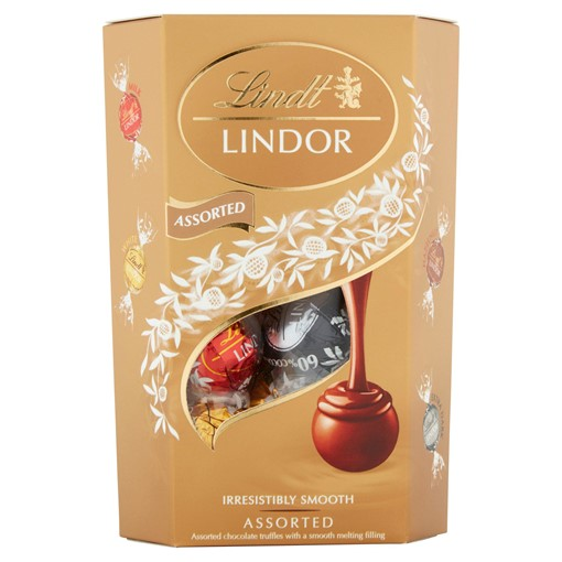Picture of Lindt Lindor Assorted Chocolate Truffles Box 200g