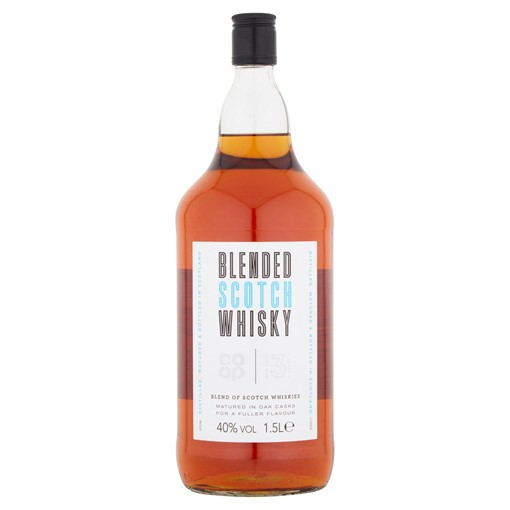 Picture of Co Op Blended Scotch Whisky Oak Aged 3 Years 1.5 Litre