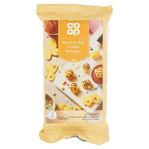 Picture of Co Op Ready to Roll Golden Marzipan 500g