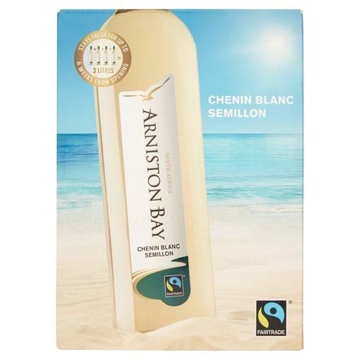 Picture of Arniston Bay Fairtrade Chenin Blanc Semillon 3L