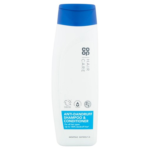 Picture of Co-op Hair Care 2 in 1 Anti Dandruff Shampoo & Conditioner 300ml