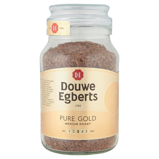 Picture of Douwe Egberts Pure Gold Medium Roast Instant Coffee 190g