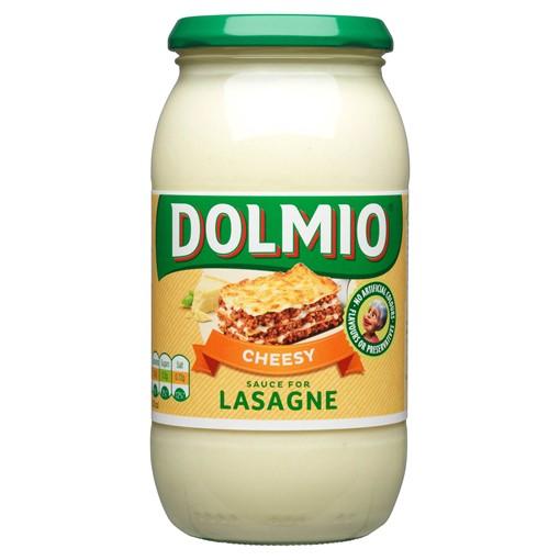 Picture of Dolmio Lasagne Cheesy White Sauce 470g