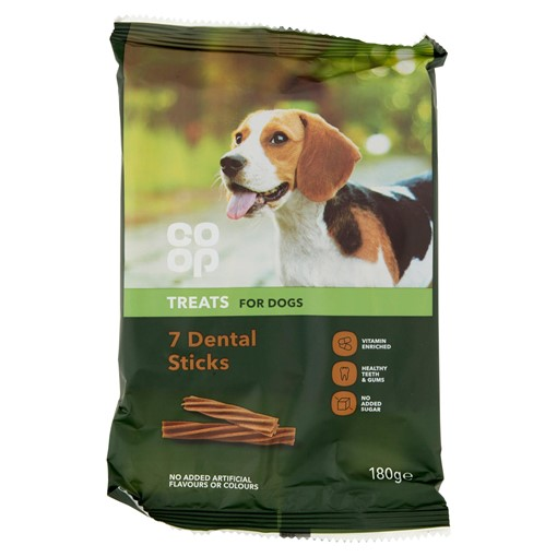 Picture of Co-op 7 Dental Sticks 180g