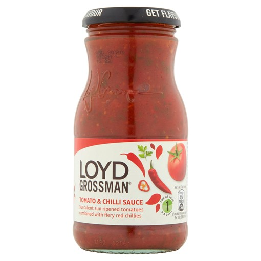 Picture of Loyd Grossman Tomato & Chilli Sauce 350g