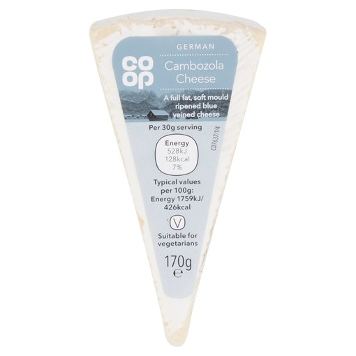 Picture of Co Op German Cambozola Cheese 170g