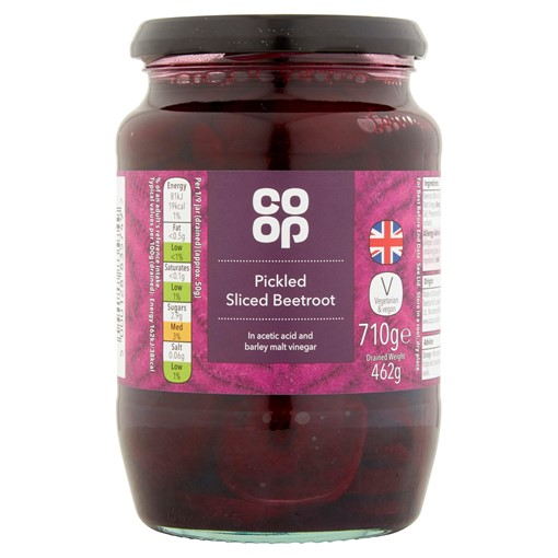 Picture of Co Op Pickled Sliced Beetroot 710g