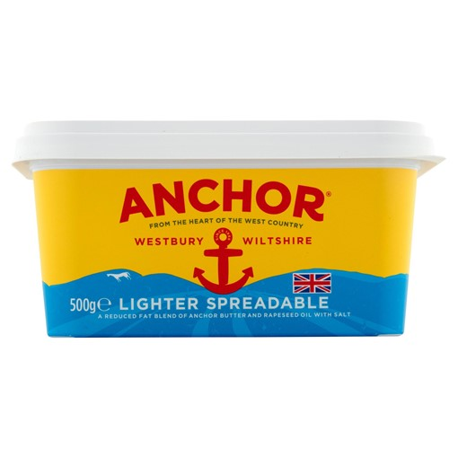 Picture of Anchor Lighter Spreadable Blend of Butter and Rapeseed Oil 500g