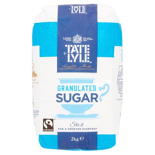 Picture of Tate & Lyle Fairtrade Granulated Sugar 2kg