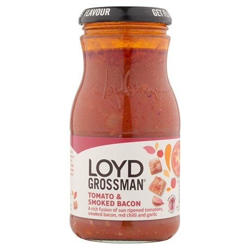 Picture of Loyd Grossman Tomato & Smoked Bacon Pasta Sauce 350g