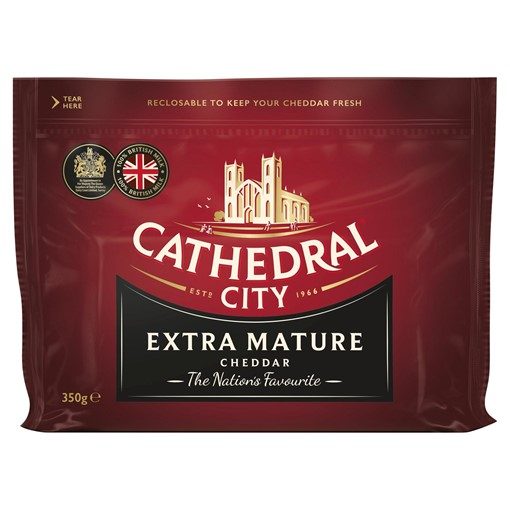 Picture of Cathedral City Extra Mature Cheddar Cheese 350g