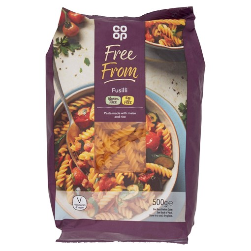 Picture of Co-op Free From Fusilli 500g