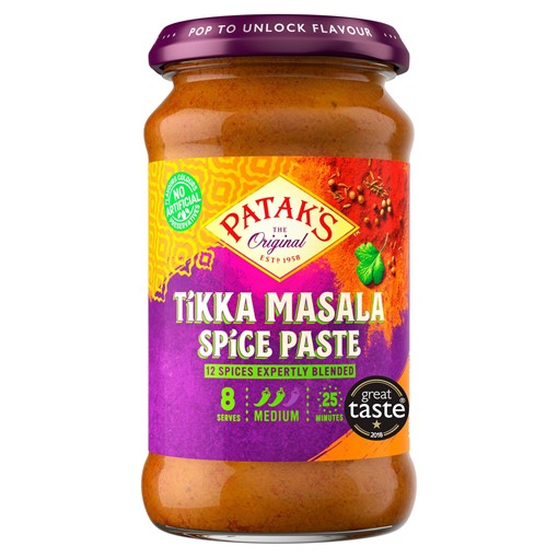 Picture of Patak's The Original Tikka Masala Spice Paste 283g