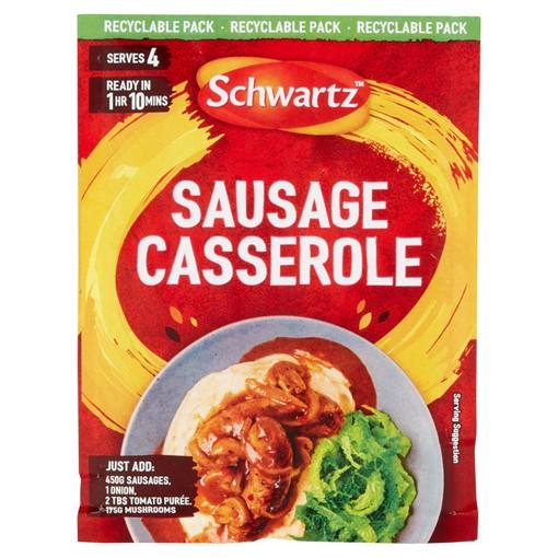 Picture of Schwartz Sausage Casserole Recipe Mix 35g