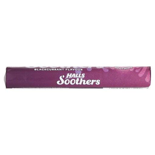 Picture of Halls Soothers Blackcurrant Juice Sweets 45g