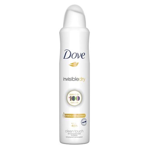 Picture of Dove Invisible Dry Aerosol Antiperspirant Deodorant 250 ml