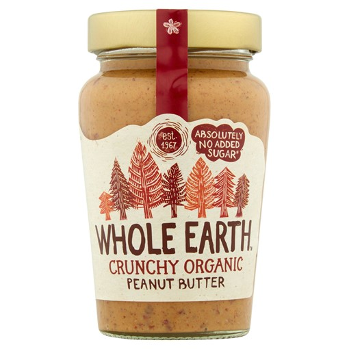 Picture of Whole Earth Crunchy Organic Peanut Butter 340g