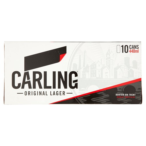 Picture of Carling Original Lager 10 x 440ml
