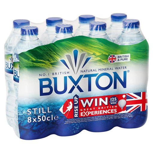 Picture of Buxton Still Natural Mineral Water 8x500ml