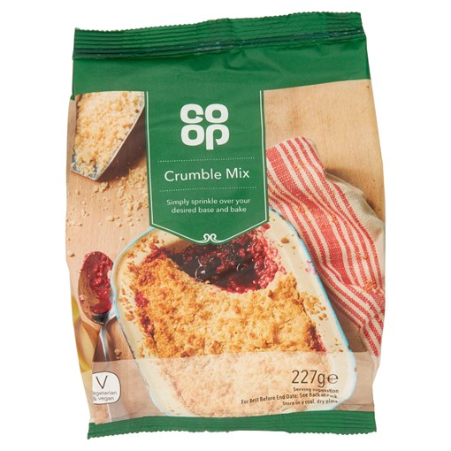 Picture of Co Op Crumble Mix 227g