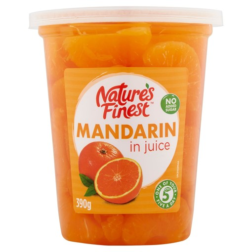 Picture of Nature's Finest Mandarin in Juice 390g
