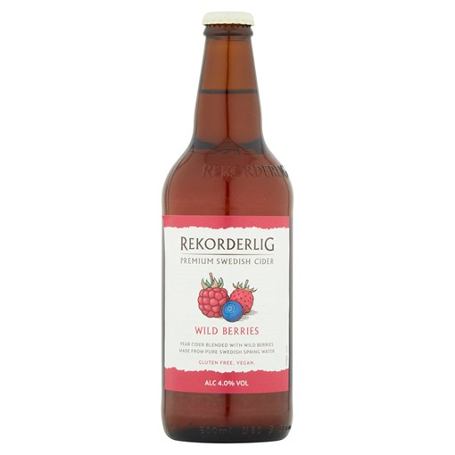 Picture of Rekorderlig Premium Swedish Wild Berries Cider 500ml