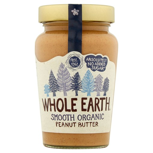 Picture of Whole Earth Organic Smooth Peanut Butter 340g