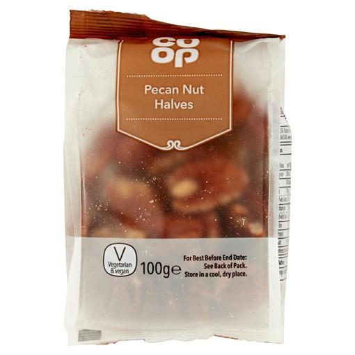 Picture of Co Op Pecan Nut Halves 100g