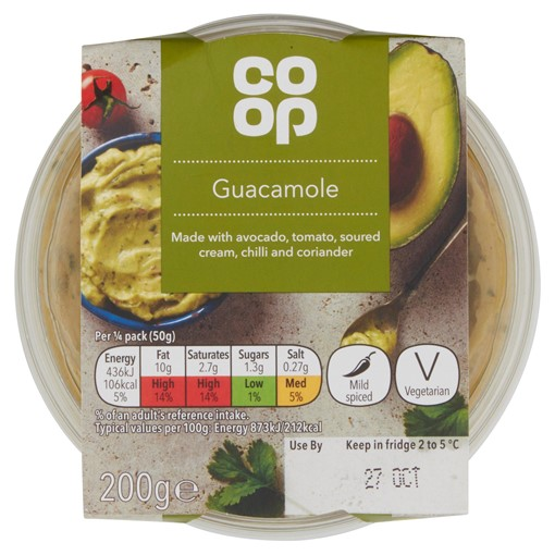 Picture of Co Op Guacamole 200g